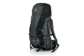 Deuter Aircontact 55+10 Granite/black, туристический