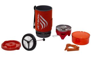 JetBoil Flash™ With Coffee Press Tomato