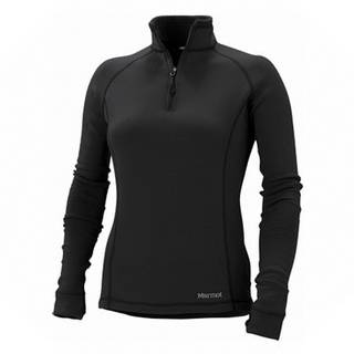 Marmot Power Stretch Half Zip Lady Black