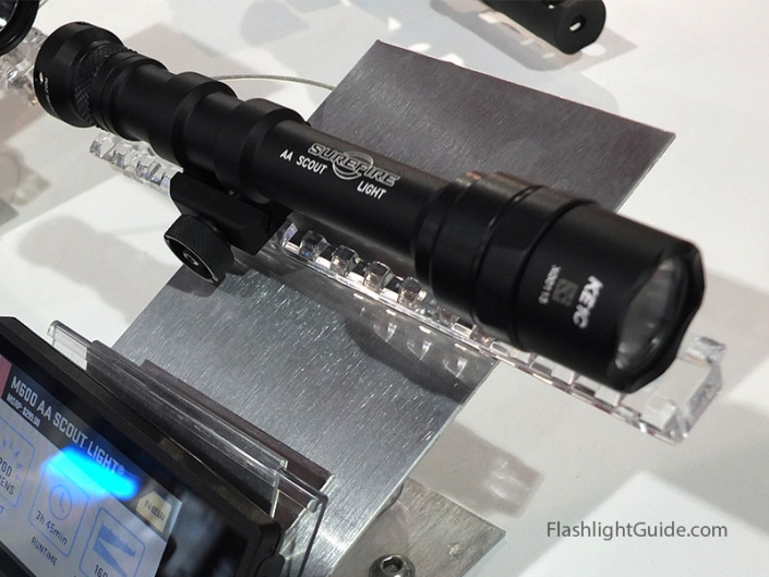 XC1 Pistol Light, M600 AA Scout Light, SureFire