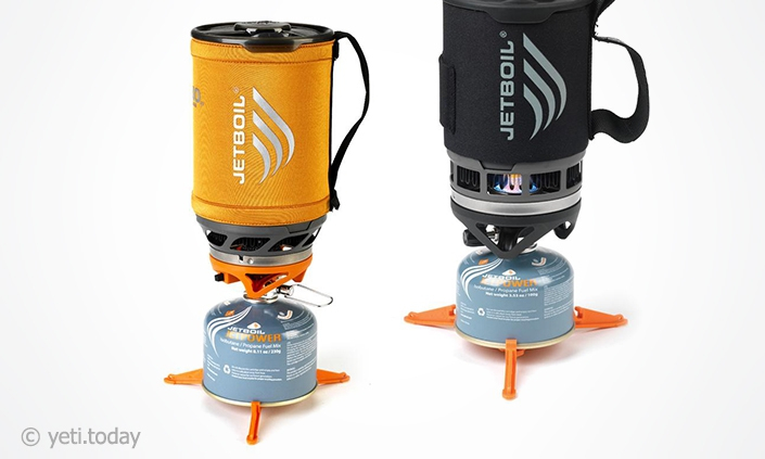 JetBoil Zip и Sumo Group Cooking System